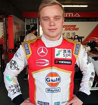 Felix Rosenqvist - Rosenqvist in 2015.
