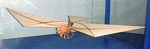 Félix du Temple de la Croix - Airplane of Félix du Temple de la Croix, 1857. Musée de l'Air et de l'Espace.