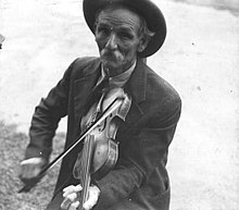 Fiddlin Bill Henseley, Mountain Fiddler, Asheville, North Carolina by Ben Shahn, 1937 LOC 290626613.jpg