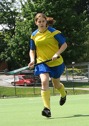Field-hockey-player