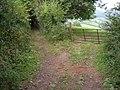 Field entrance off Coxbury Lane - geograph.org.uk - 1498639.jpg