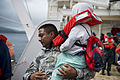 Fijian patients depart USNS Mercy during Pacific Partnership 2015 150618-F-YW474-085.jpg