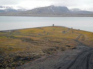 Finneset - Finneset viewed from the land side