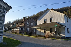 National Register of Historic Places listings in Harlan County, Kentucky - Image: First and Pirate in Lynch
