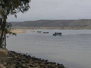 Benguela Province - Fishing boats near Lobito