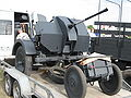 FlaK 38 anti-aircraft gun on a trailer during the VII Aircraft Picnic in Kraków (1).jpg