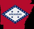 Flag map of Arkansas (1923-1924).png