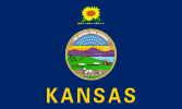 Flag of Kansas (September 22, 1961)