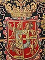 Flanders Tapestry with the coat of arms of Anna Catherine Constance Vasa (detail) 02.jpg