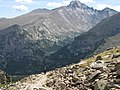 Flattop Trail Descent - Longs Peak - panoramio.jpg