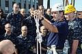 Flickr - Official U.S. Navy Imagery - Navy officer candidates learn how to attach lines in an obstacle course..jpg
