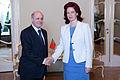 Flickr - Saeima - Solvita Āboltiņa tiekas ar Portugāles vēstnieku (1).jpg
