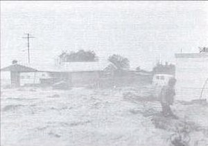 Hurricane Kathleen (1976) - Floodwaters caused by the storm