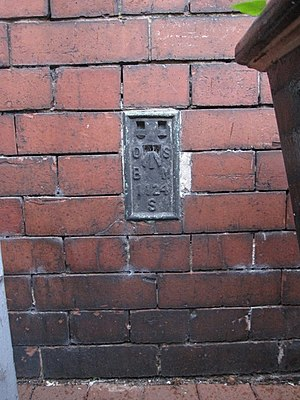 Nantwich Museum - Image: Flush Bracket S1124 on Nantwich Museum geograph.org.uk 1566280