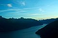 Flying over Jervis Inlet as the sun goes down (6444803089).jpg