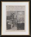Foglio di giornale illustrato - Musei del cibo - Parmigiano - 279.tif