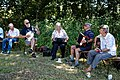 Folk musicians at Copsale Hall, Nuthurst, West Sussex, England 01.jpg