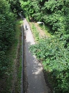 Milton Keynes redway system Shared path network in Milton Keynes, England