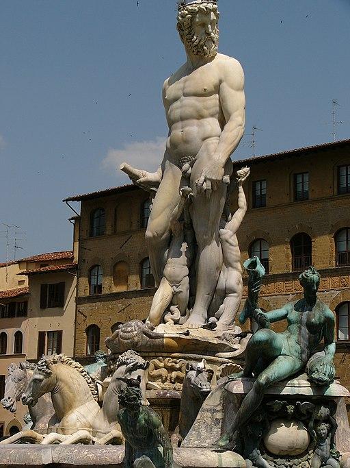 Fontana del Nettuno, Piazza della Signoria, Firenze