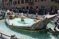 Fontana della Barcaccia in Piazza di Spagna - Rome, Italy - 8 July 2011.jpg