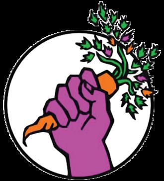 Food Not Bombs - Image: Food Not Bombs (emblem)