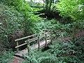 Footbridge over Cumbeth Brook. - geograph.org.uk - 522317.jpg