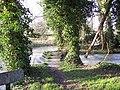 Footbridge over the River Ebble - geograph.org.uk - 356139.jpg