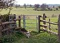 Footpath gate, Shuckburgh - geograph.org.uk - 1257347.jpg