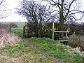 Footpath junction - geograph.org.uk - 1008292.jpg
