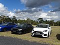 Ford Focus RS & Subaru Liberty GT (39341856735).jpg
