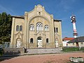 Former synagogue. Listed ID -1499. - Damjanich St., Cegléd, Hungary.JPG