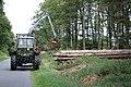 Forstwirtschaft Nutscheid, MB trac mit Rückewagen.jpg