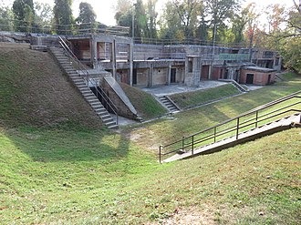 Fort Hunt Park - Image: Fort Hunt Park Battery Mount Vernon 2016