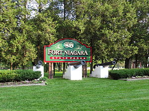 Fort Niagara State Park - Image: Fort Niagara State Park, New York