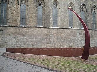 Fossar de les Moreres - Near Santa Maria del Mar basilica