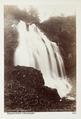 Fotografi av Espelandsfos i Hardanger, Norge - Hallwylska museet - 105747.tif