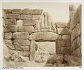 Fotografi på Lejonporten i Mykene, Grekland - Hallwylska museet - 104616.tif
