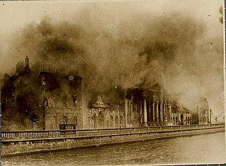 Battle of Dublin A week of street battles in Dublin in 1922, beginning the Irish Civil War