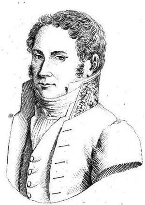 François-Régis de La Bourdonnaye - Portrait from Biographie pittoresque des députés, Paris, 1820