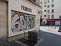 François au croisement rue des Gravilliers rue Beaubourg Paris.jpg