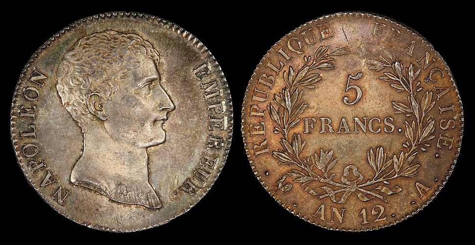 France 1803-A 5 Francs