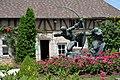 France IDF 77 Egreville Jardin Bourdelle 06.jpg