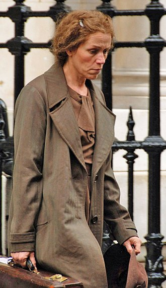 Miss Pettigrew Lives for a Day - Frances McDormand on location in May 2007.