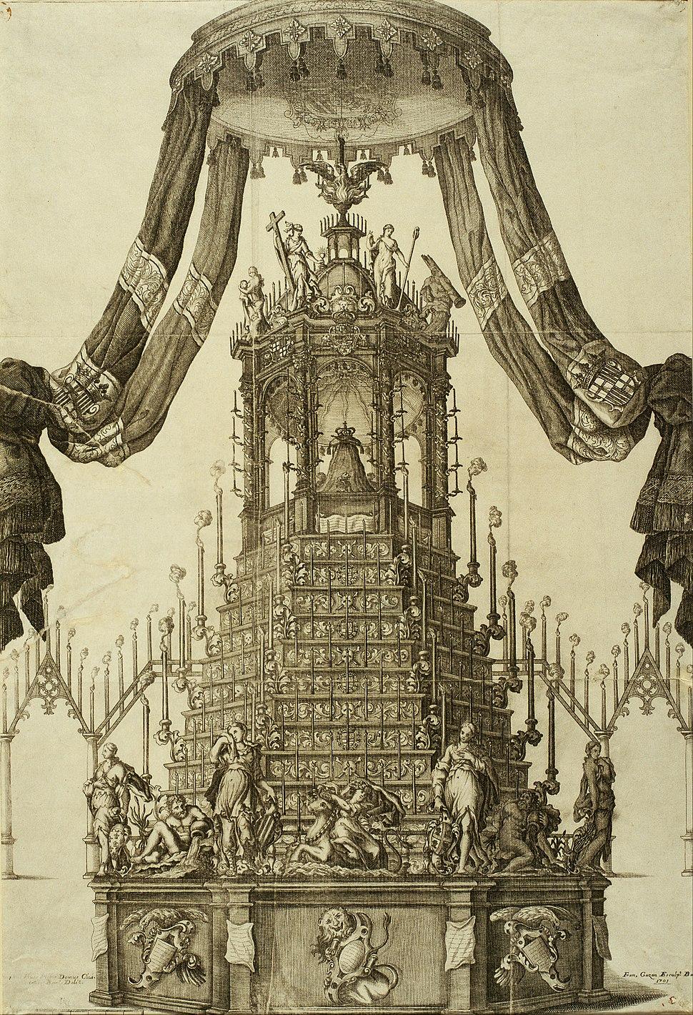 Francesc Gazan - Tomb of Charles II - Google Art Project