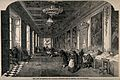 Franco-Prussian War; Salon de Diane, Tuleries shown as a hos Wellcome V0015466.jpg