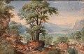 Frans Boels, paesaggio con cacciatori, fine del XVI sec. (olanda) (cropped).jpg