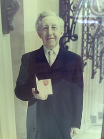 Fred Brooman CB on the day he received the honour.jpg