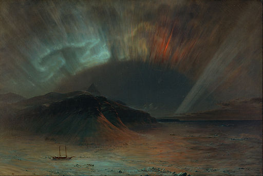Frederic Edwin Church - Aurora Borealis - Google Art Project