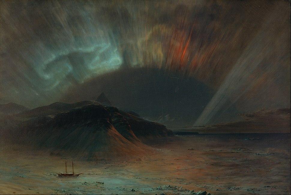 Frederic Edwin Church - Aurora Borealis - Google Art Project