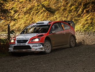 Munchi's Ford World Rally Team - Image: Frederico Villagra 2007 Wales Rally GB 001